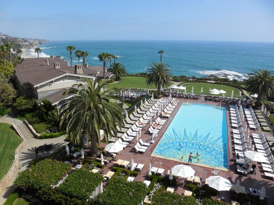 Montage Laguna Beach: The 'reveal' from the lobby of the view beyond