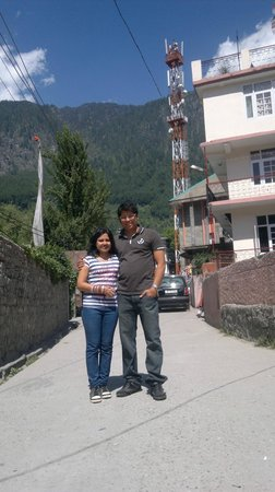 Hotel Himgiri: Just outside the Hotel