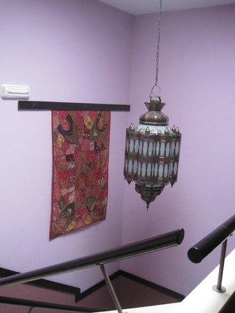 La Flor de Al-Andalus: Hallway decor
