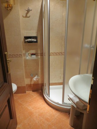 San Marco Palace Suites: Bathroom of basic double room