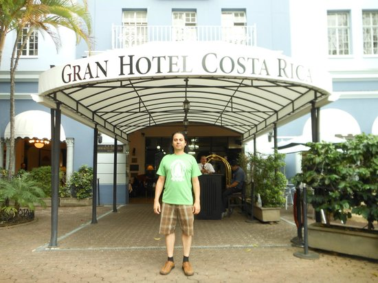 Gran Hotel Costa Rica: Gran entrance MAY2013