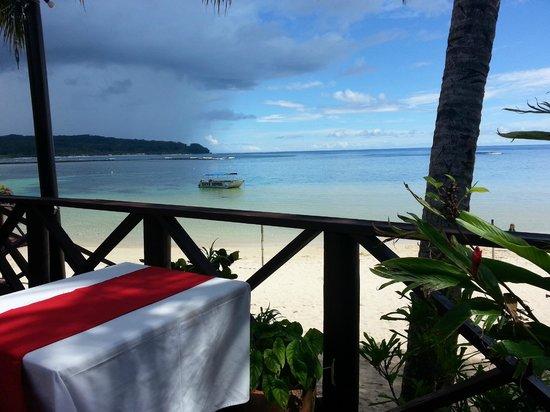 Le Lagoto Resort & Spa: The Deck