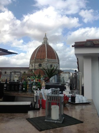 Grand Hotel Cavour: View from Roof Terrace