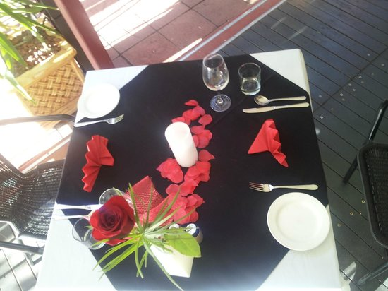 Red Ochre Grill Restaurant Alice Springs: For that someone special