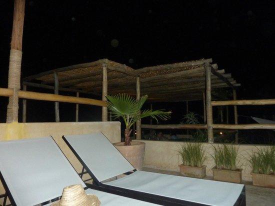 Riad Anata: terrasse en soirée