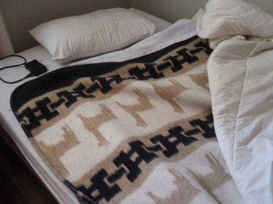 Hotel Royal Qosqo: ベッドの毛布がアルパカ模様だったのがかわいかった