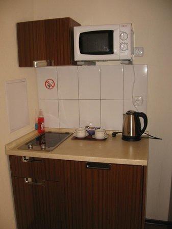 Hotel Lukyanovsky: есть мини-кухня!очень спасало!