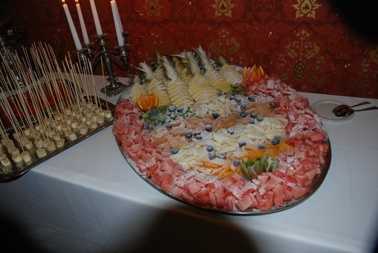 Kasteel de Rozerie: Dessertbuffet