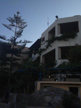 Ansicht Villa Tsapakis