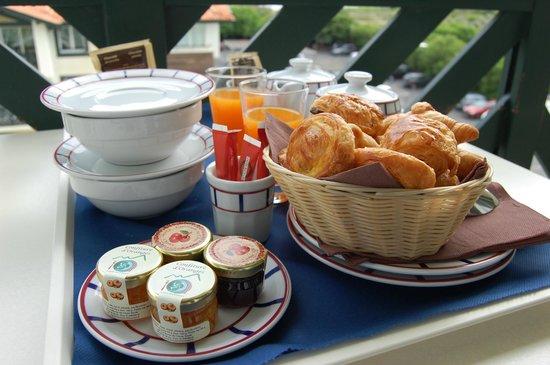 Atlanthal : Petit déjeuner servi en chambre