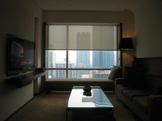 โรงแรมเลอ เมอริเดียน กรุงเทพ: リビングルーム1