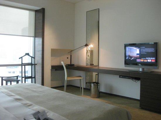 โรงแรมเลอ เมอริเดียน กรุงเทพ: ベッドルーム1