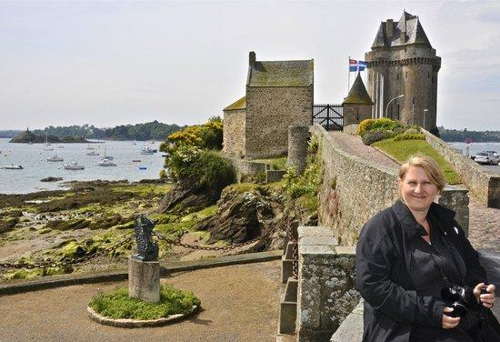 Long cours et Cap Horniers (tour Solidor) : Entrance to the Tower