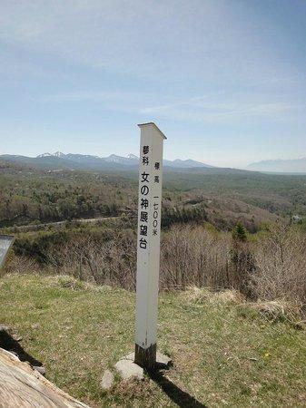 Mt. Tateshina: 女の神展望台