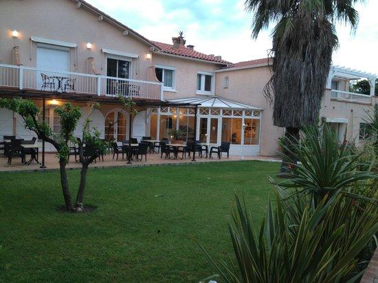 Hotel Le Cottage : La terrasse