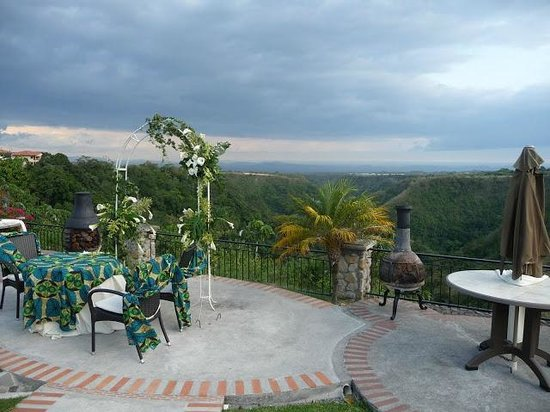 Hacienda Los Molinos Boutique Hotel: View of the gorge
