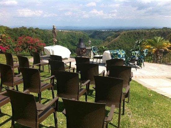 Hacienda Los Molinos Boutique Hotel : venue for wedding ceremony
