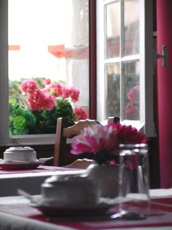 Hotel Atalaye : salle petits déjeuners