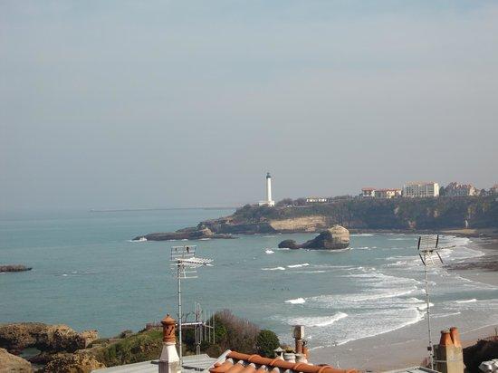 Hotel Atalaye : vue mer