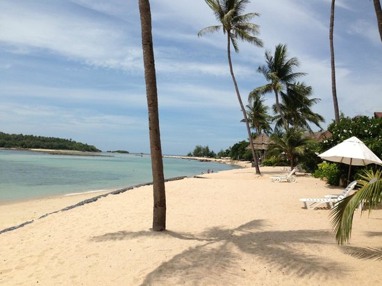 Nora Beach Resort and Spa: Strand bei der Beachvilla
