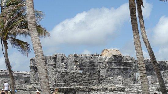 Avenida Tulum: One of the ruins