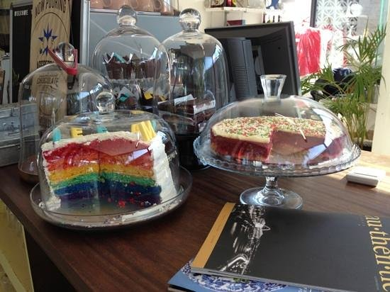 Freedom Cafe : rainbow tea
