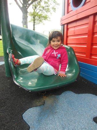 Cheverton Copse Holiday Park: slide