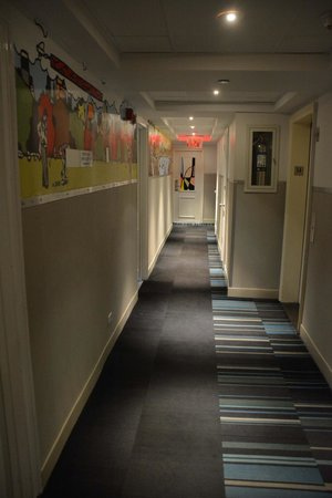 Pod 51 Hotel: Couloir