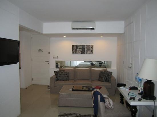 Astana Kunti: living room beside the bed.