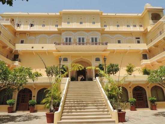 Samode Palace: L'entrée
