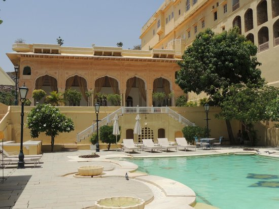 Samode Palace: la piscine principale
