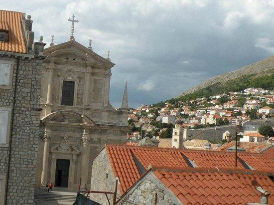Church of St. Ignatius of Loyola: Вид на церковь со стен Старого города