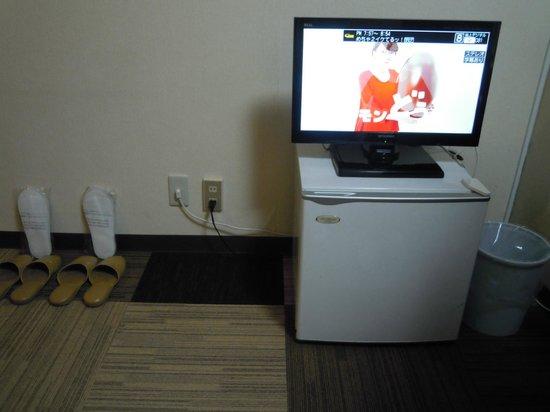 Hotel Select Inn Utsunomiya : テレビ小さい・・・