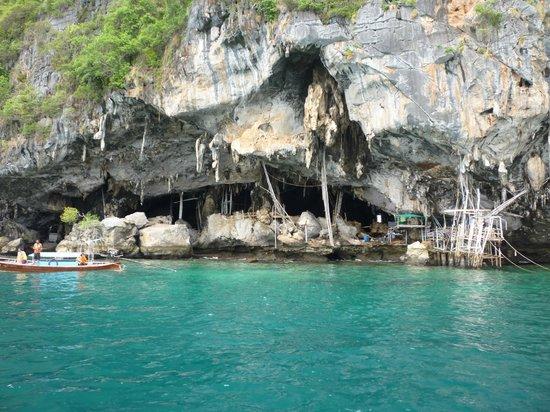 Simba Sea Trips: Phi Phi Island Trip 2010-Viking Cave