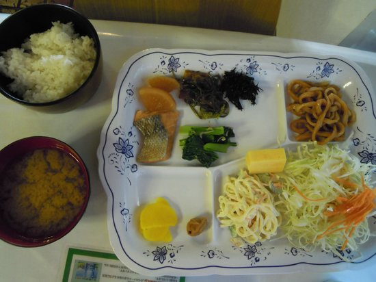 Hotel Select Inn Utsunomiya : ついついたくさん食べちゃう。