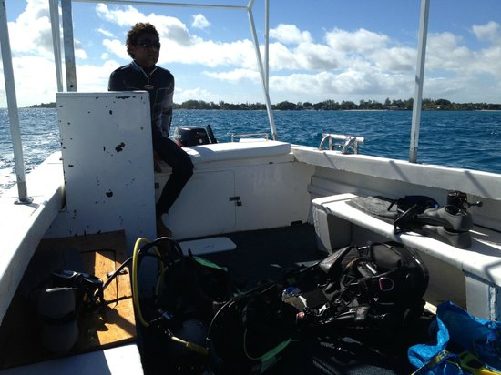 Ocean Spirit Dive Center : Boot