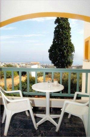 Villa SoRenia: View of the Cretan Sea from a balcony