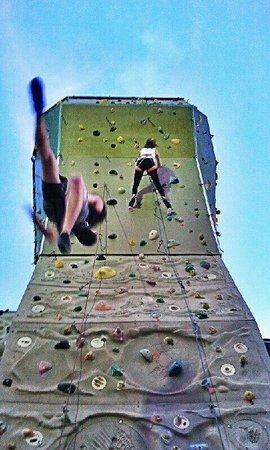 Olympus climbing wall