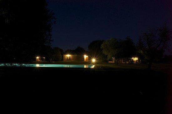 Agriturismo I Tre Casali: alla sera