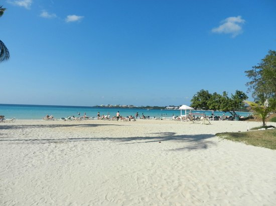 Hotel Riu Palace Tropical Bay: superbe plage