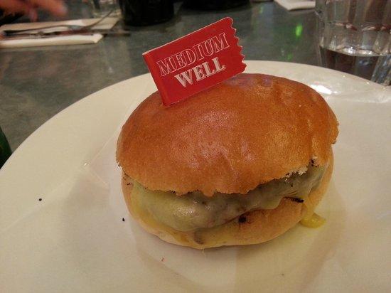 Byron Kensington: the burger.