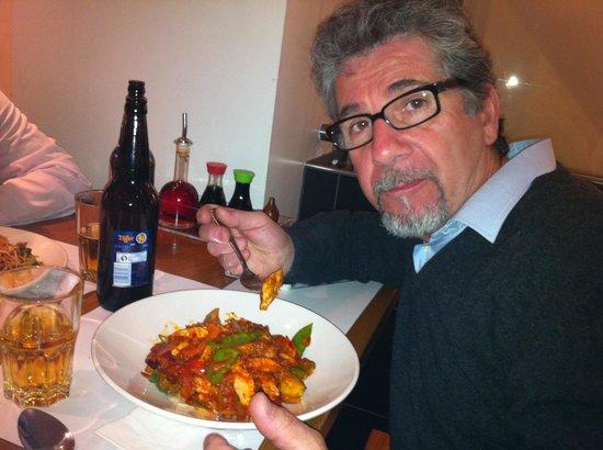 Wagamama: chicken chilli men