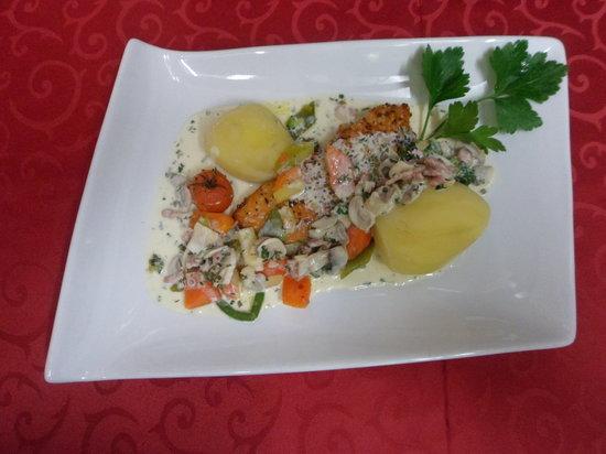 Hotel Les Alpes : Les Plats du Chef