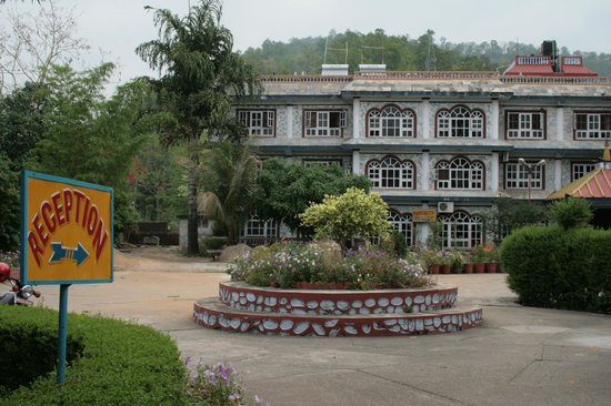 orchid hotel & main reception - picture of orchid resort, hetauda