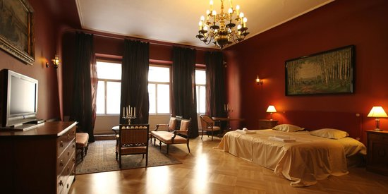 Small Luxury Palace Hotel Prague: Presidential Suite