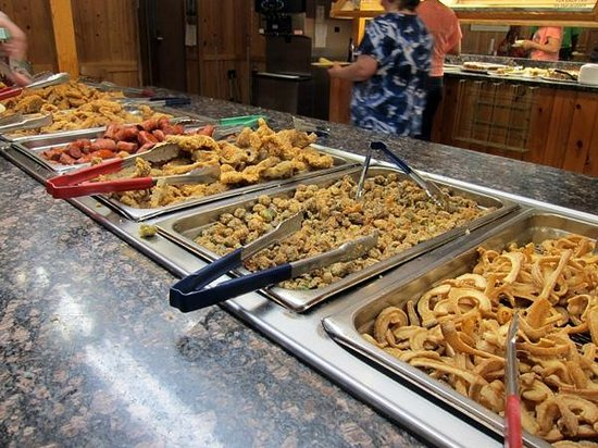 Ole Times Country Buffet : Some fried stuff