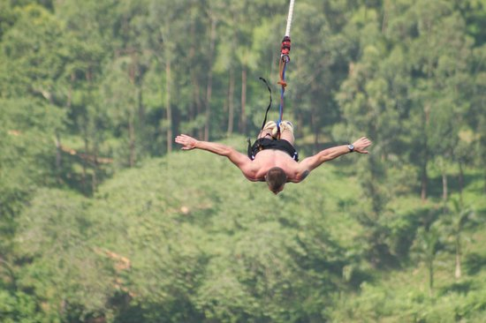 Adrift Riverbase: Bungee Jumping into the Nile 145ft
