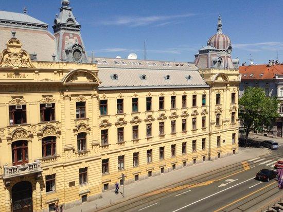Esplanade Zagreb Hotel: Room with a view
