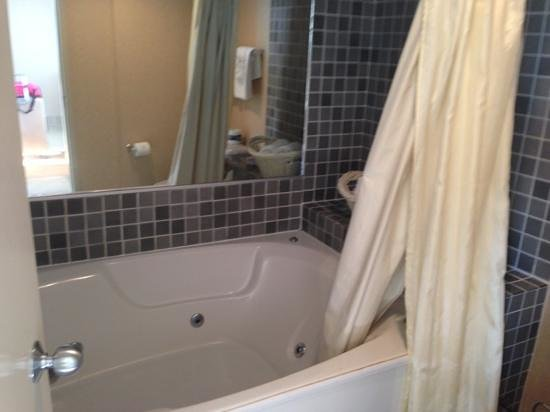 jacuzzi tub picture of four sails resort virginia beach. Black Bedroom Furniture Sets. Home Design Ideas