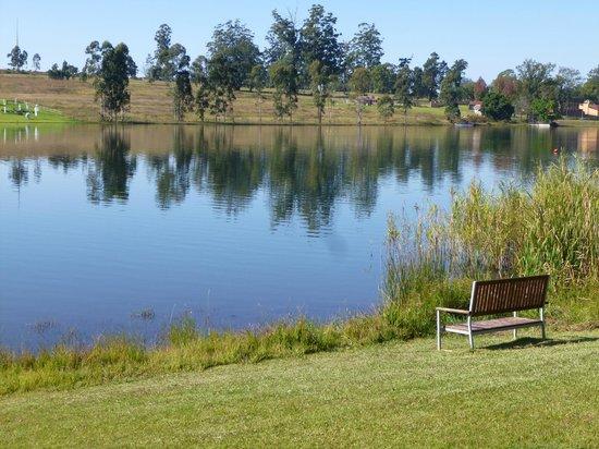 Pine Lake Resort: vista di fronte al lago